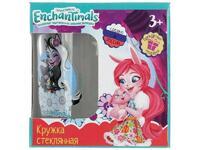 Мягкая игрушка Enchantimals. Кружка в подарочной коробке 250мл. стекло Умка в кор
