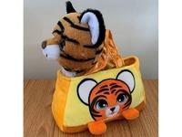 Мягкая игрушка Мягкая игрушка тигр в сумочке символ года 2022