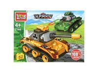Мягкая игрушка Конструктор т-34 против тигра