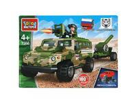 Мягкая игрушка ВПК конструктор бронемашина тигр с пушкой